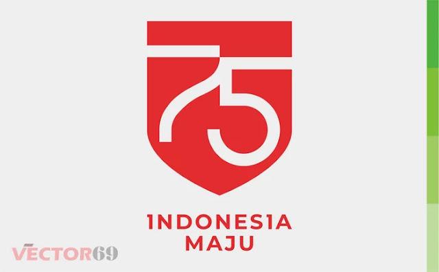 Logo Resmi HUT RI ke-75 Tahun 2020 - Download Vector File CDR (CorelDraw)