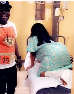 Cossy Ojiakor Dances On Hospital Bed 7