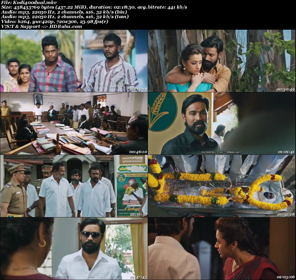 Kodi (2016) x264 720p HDRiP UNCUT [Hindi + Tamil] 450 MB Screenshot