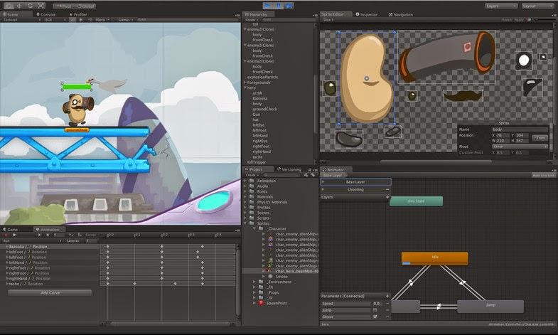 Unity 5] 2D Platformer - Full source code ~ Mobile Game - Source Code