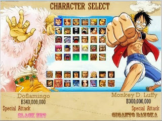 โหลดเกมส์ PC One Piece Pirate Battle Mugen