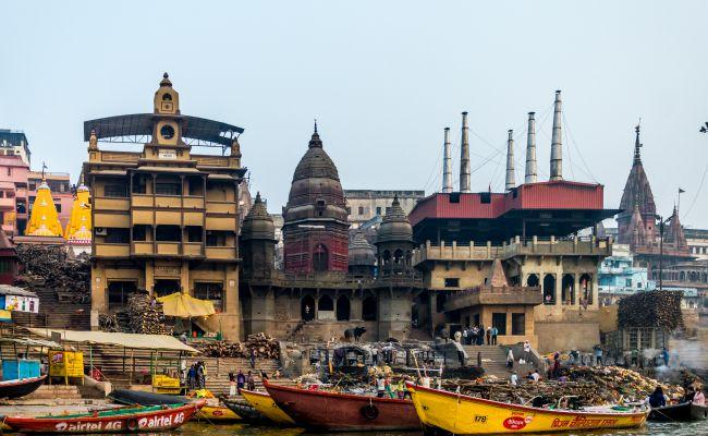 The Burning Ghats of Varanasi