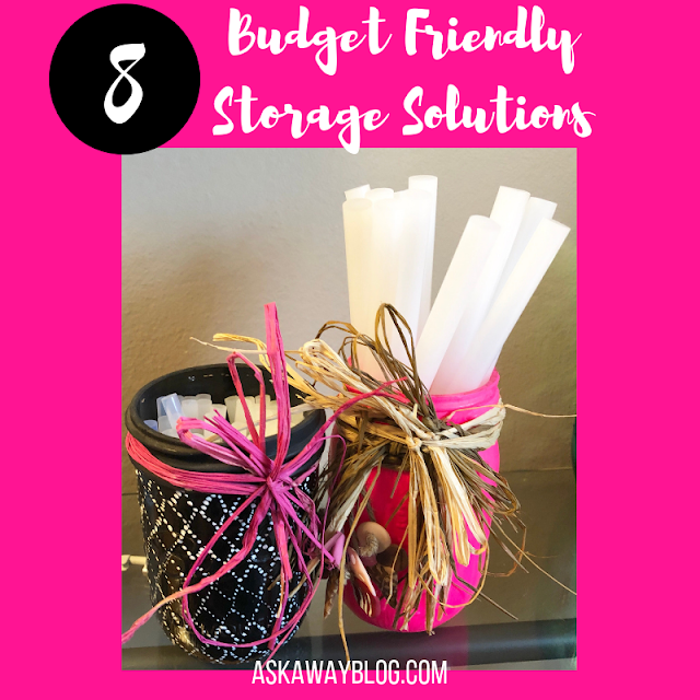 8 Budget Friendly Storage Solutions