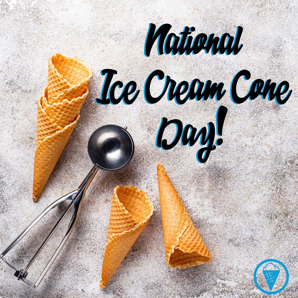 National Ice Cream Cone Day Wishes Awesome Picture