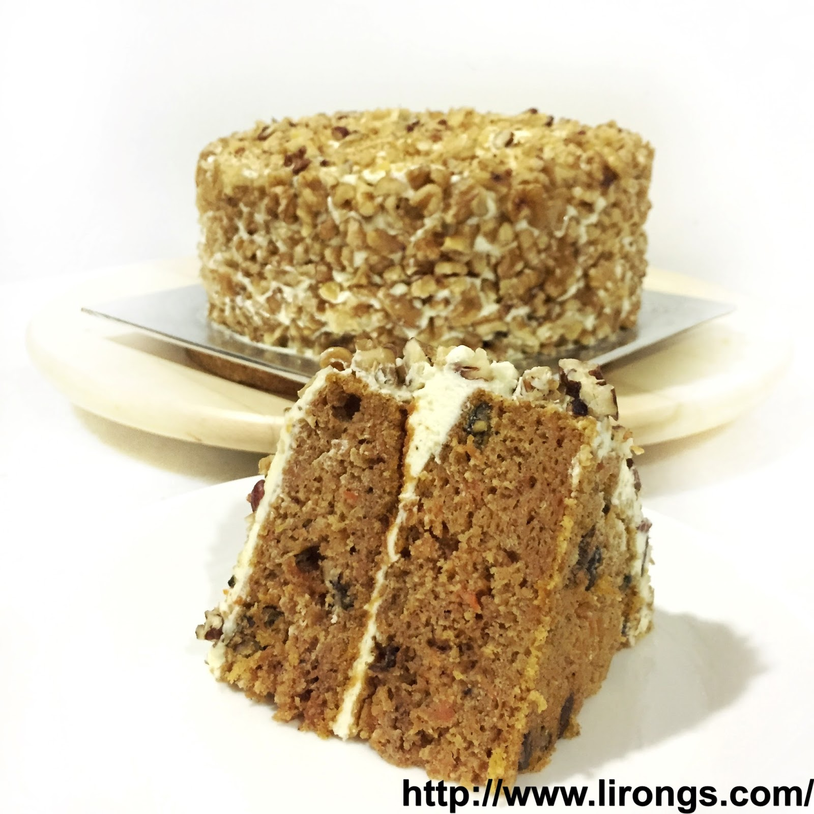 Carrot Walnut Cake Recipe Singapore