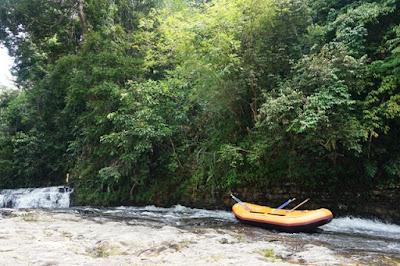 geopark merangin arung jeram sungai batang merangin