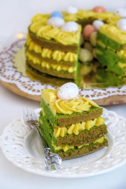 szpinakowe ciasto