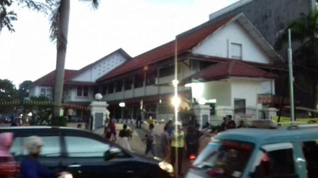 Suasana Sesaat meninggalnya Ketua PGRI Sulstyo