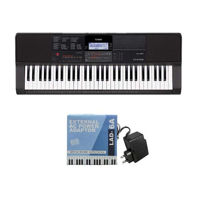 Best Casio CTX700 61-Key Touch Sensitive Portable Keyboard