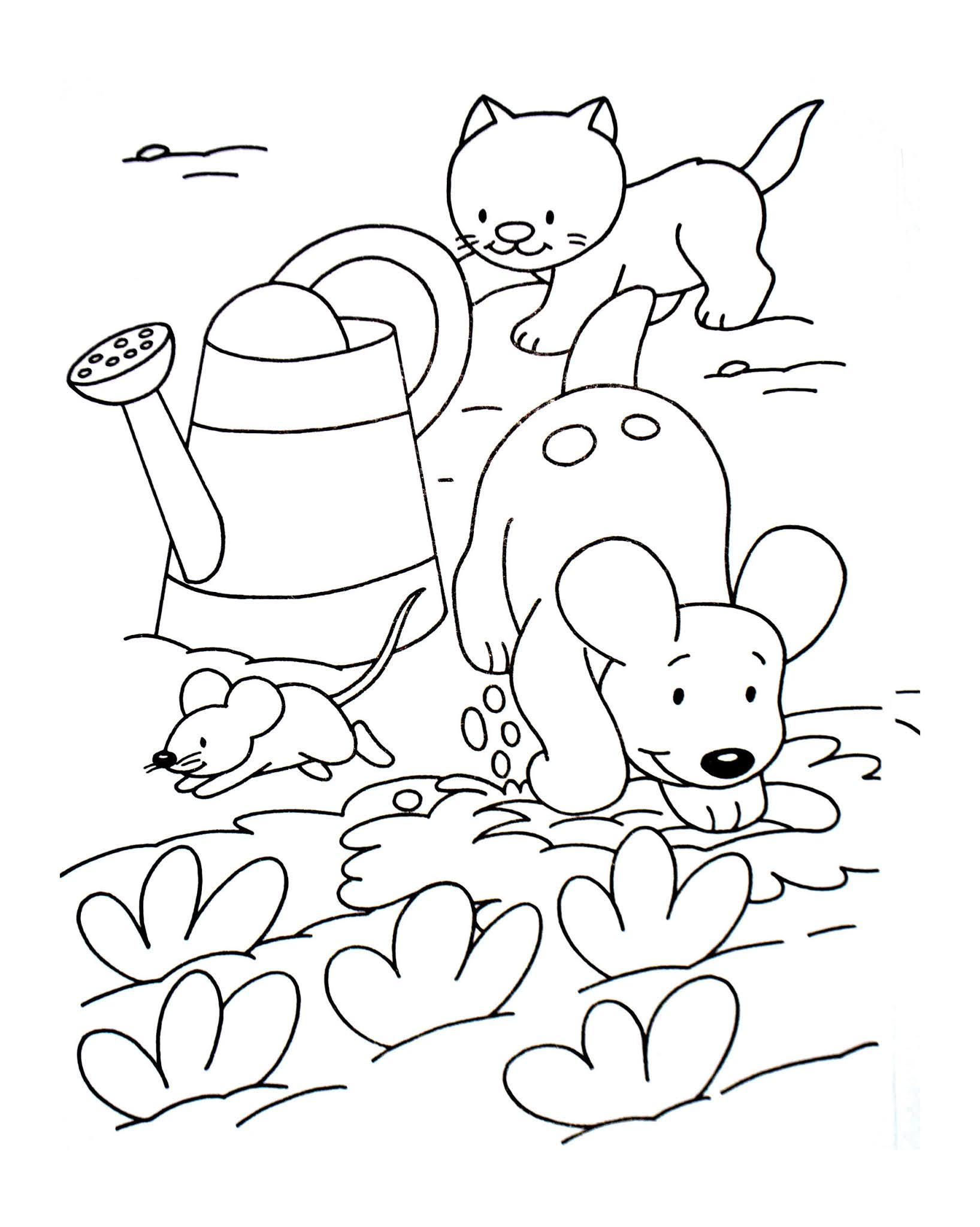Dogs coloring pages 63