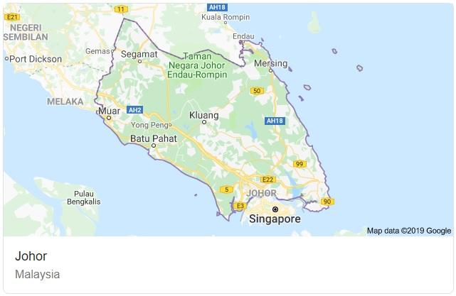 Johor Map