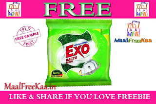 Free Exo Dishwashing Bar & Bactoscrub