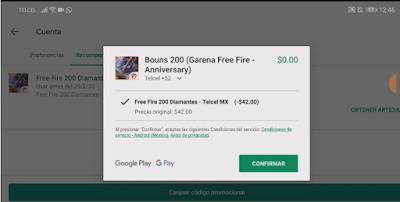 Free Fire 200 : Cara Dapat 200 Diamond Free Fire Gratis Dari Telcel FF