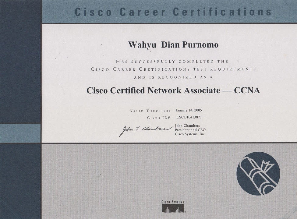 Cisco Certified Network Associate (CCNA), 2002