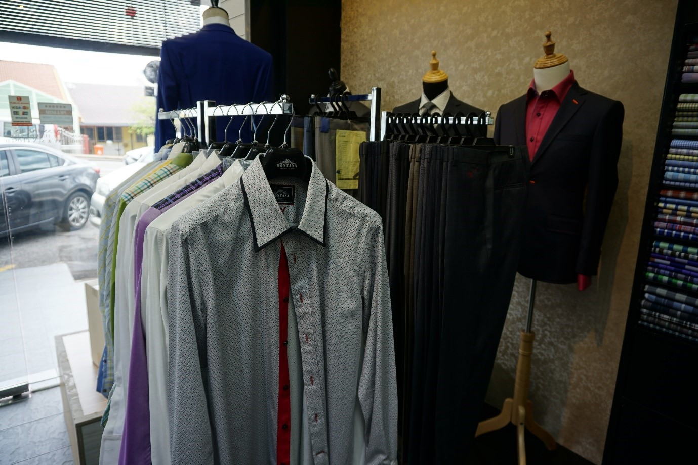 montana fashion shop sea park petaling jaya, tips pemakaian sut