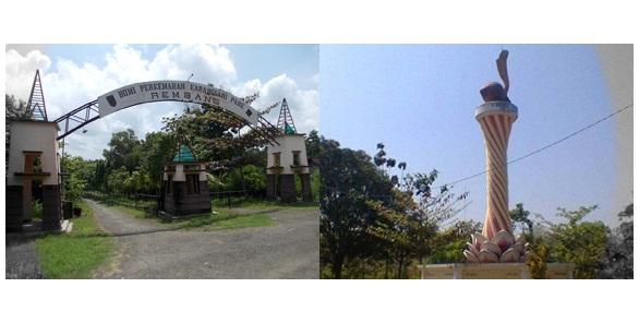 Lokasi wisata di bumi perkemahan Karangsari Park Rembang
