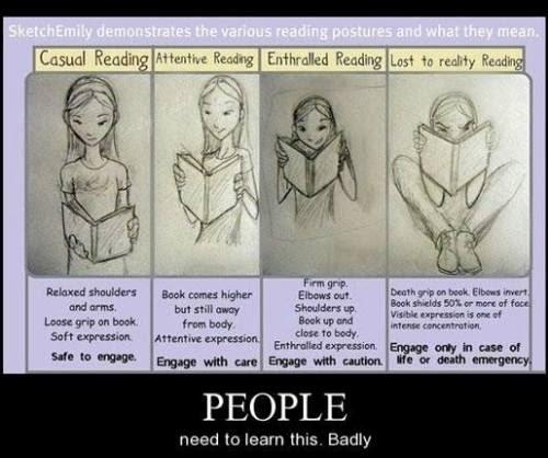 reading postures