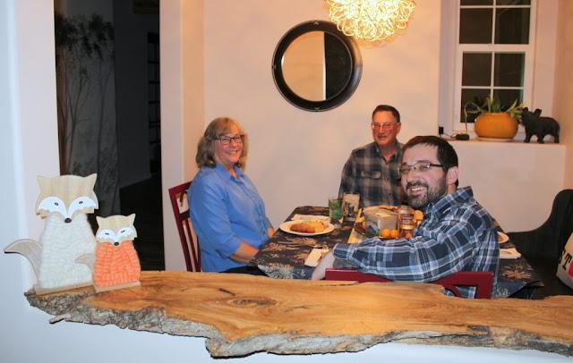 Woolly fox family