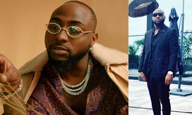 'Abeg No Wear Suit Again'- Fan Reacts to Davido's Look After He Shared This Photo