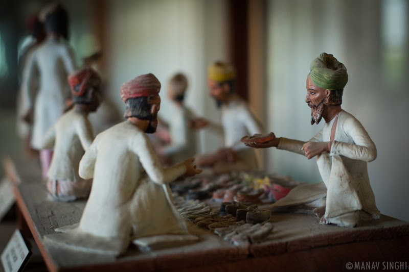 Clay Artifacts at Albert hall Museum, Jaipur.