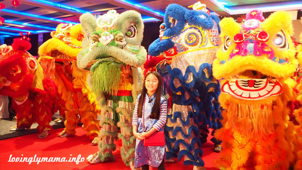 Chinese New Year lion dancers - Bacolaodiat