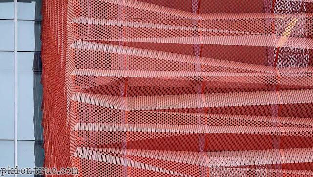 tấm kim loại chất lượng cao tạo hình trang trí mặt tiền
