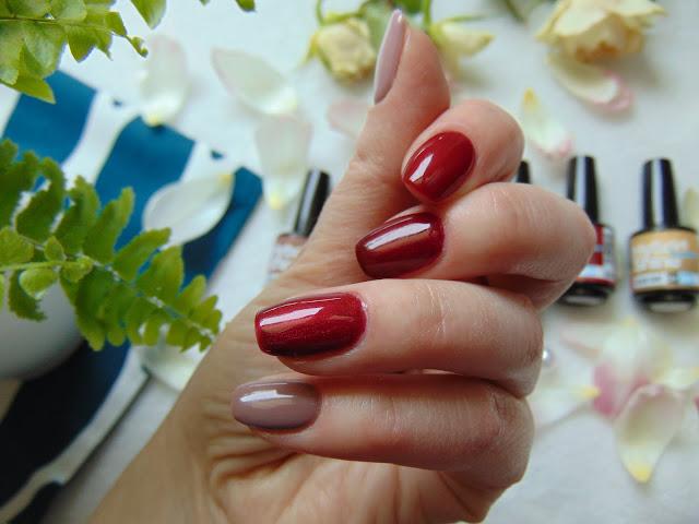 Manicure hybrydowy wykonany lakierami z kolekcji Classic Beauty od MollonPRO