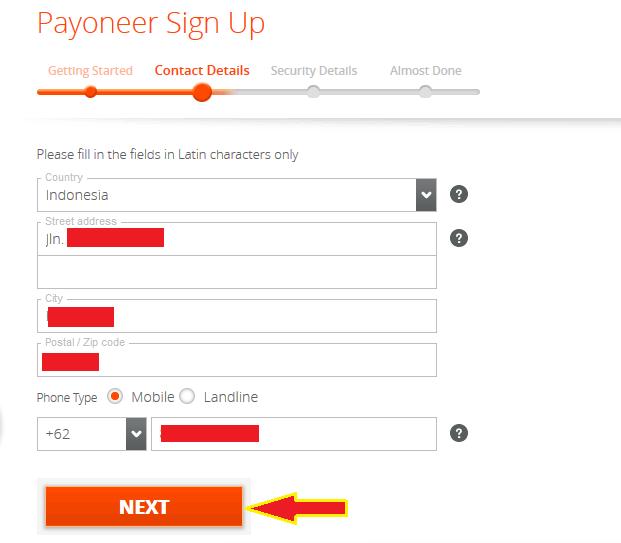 Cara Mendaftar Payoneer dan Gratis $25 - KODE INTERNET