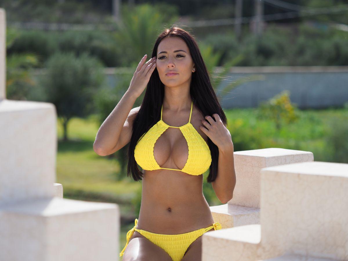 Yazmin Oukhellou in Bikini on Holiday in Morocco 12/06/2018