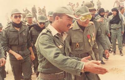 نادر 1980 عرض عسكري للقوات المسلحة الملكية المغربية
