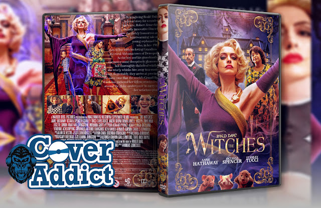 The Witches (2020) DVD Cover