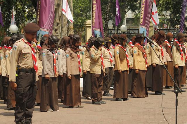 Waka. Kwarda Jatim, lepas 912 peserta Rainas Kontingen Jawa Timur