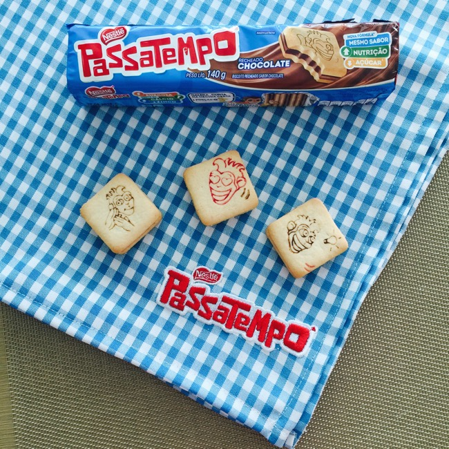 Novo Passatempo Recheado, com menor quantidade de açúcar e o mesmo sabor de infância!
