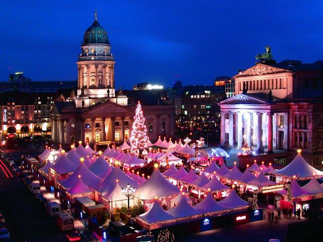 Mercado de Natal em Berlim