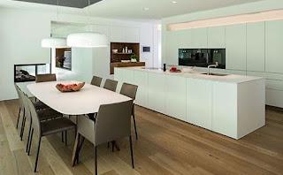 dapur lantai kayu