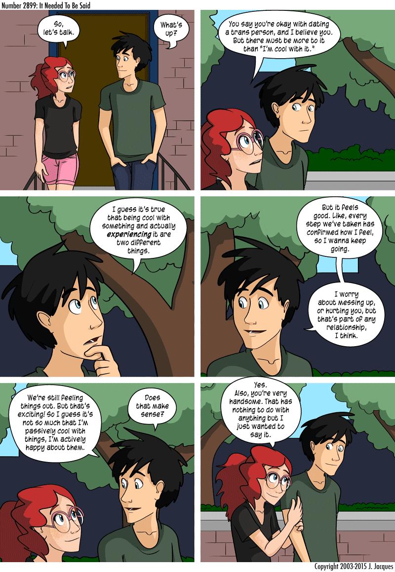 Questionable Content Comic Trans