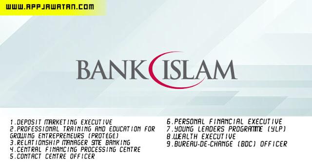 Jawatan Kosong di Bank Islam Malaysia