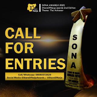 {Sponsored} Stars Of Naija Awards 2020 Categories