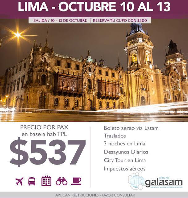 LIMA OCTUBRE 10 AL 13