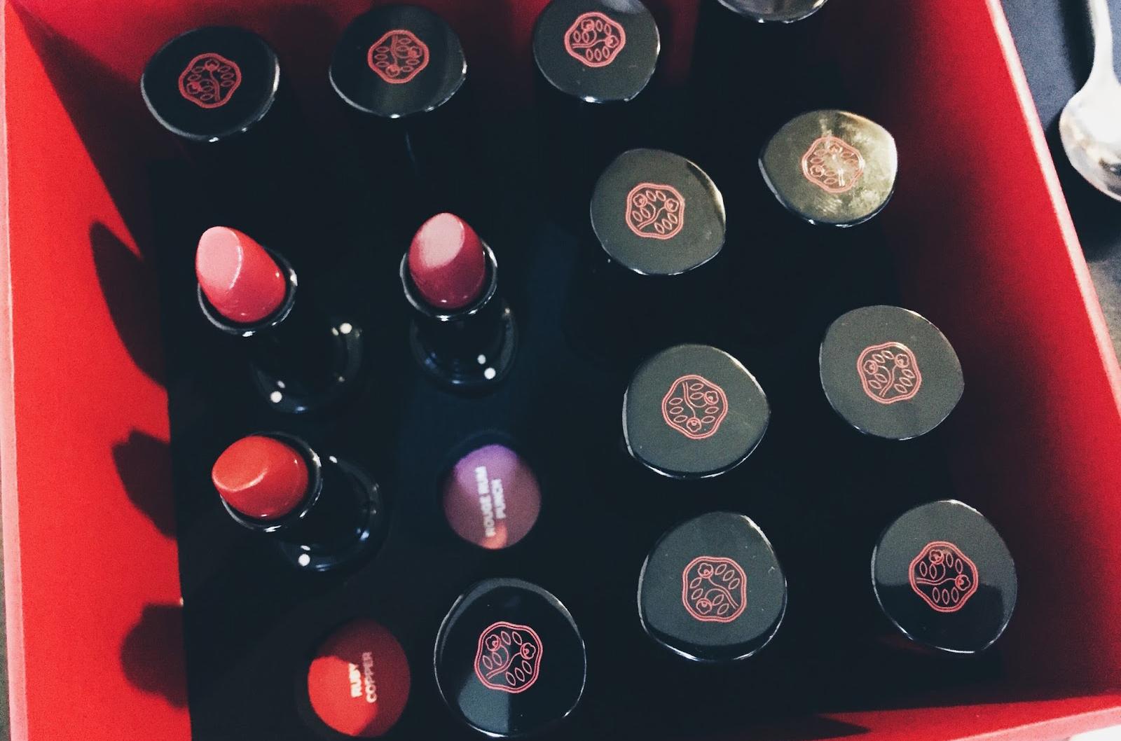 shiseido le rouge rouge avis test swatch