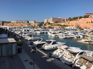 Importante puerto de Port Adriano en Palma de Mallorca  Port Adriano