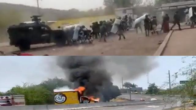 Video: Ataque a elementos del Ejercito Mexicano en Tierra Caliente, Michoacán
