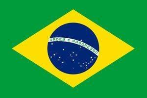 A imagem mostra a imagem da bandeira do Brasil.