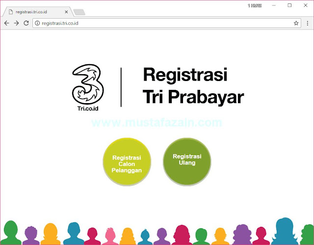 Cara Registrasi Ulang Kartu Prabayar Tri