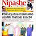 Magazeti ya Leo Jumamosi 3 August 2019, Hardnews, Udaku na Michezo