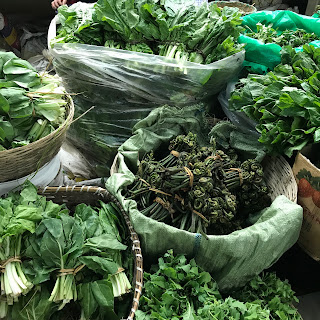 Sample of Vegetables in Bhutan