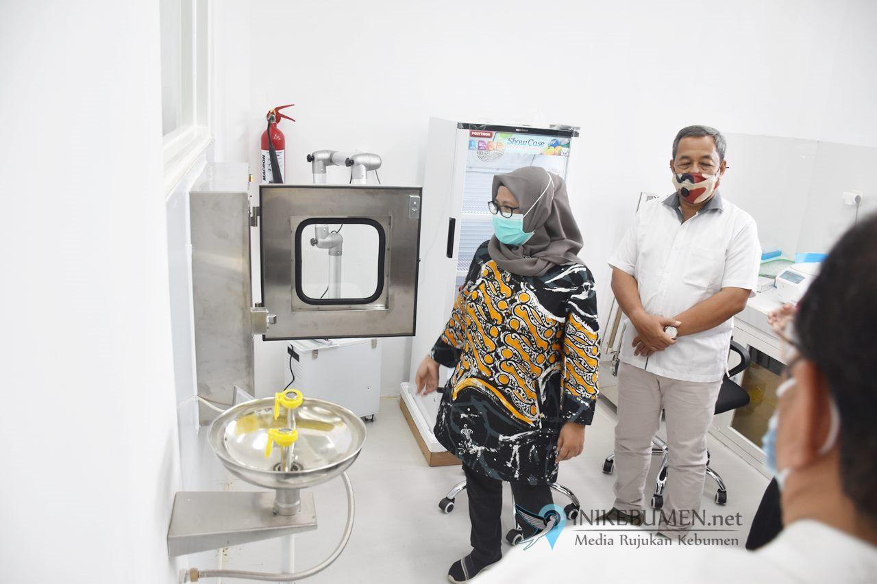 Laboratorium BSL-2 Kebumen Ditarget Mampu Periksa 200 Sampel Covid-19 Perhari