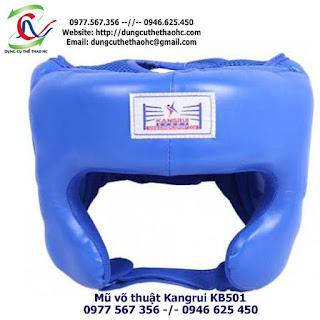 Mũ võ thuật Kangrui KB501