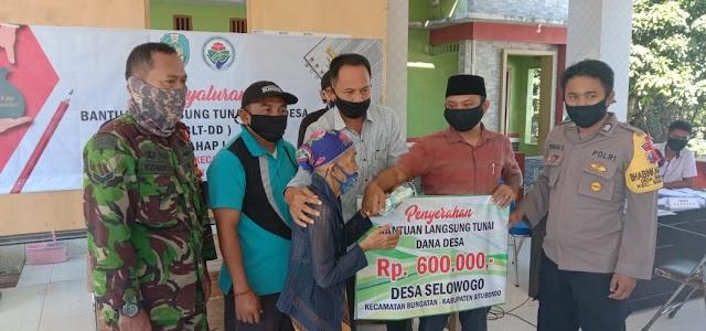 Penyaluran BLT Tahap 3 Desa Selowogo Telah Rampung Ditengah Pandemi Covid - 19