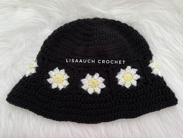 crochet bucket hat pattern